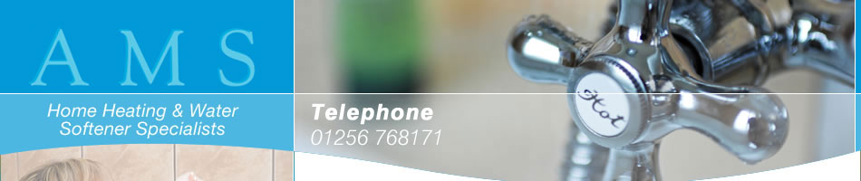 AMS - Home Heating and Water Softener Specialsists Telephone 01256 768171